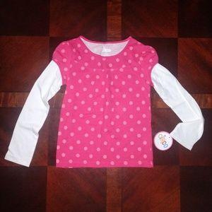 NWT Girl's Circo Longsleeve T-shirt size Small